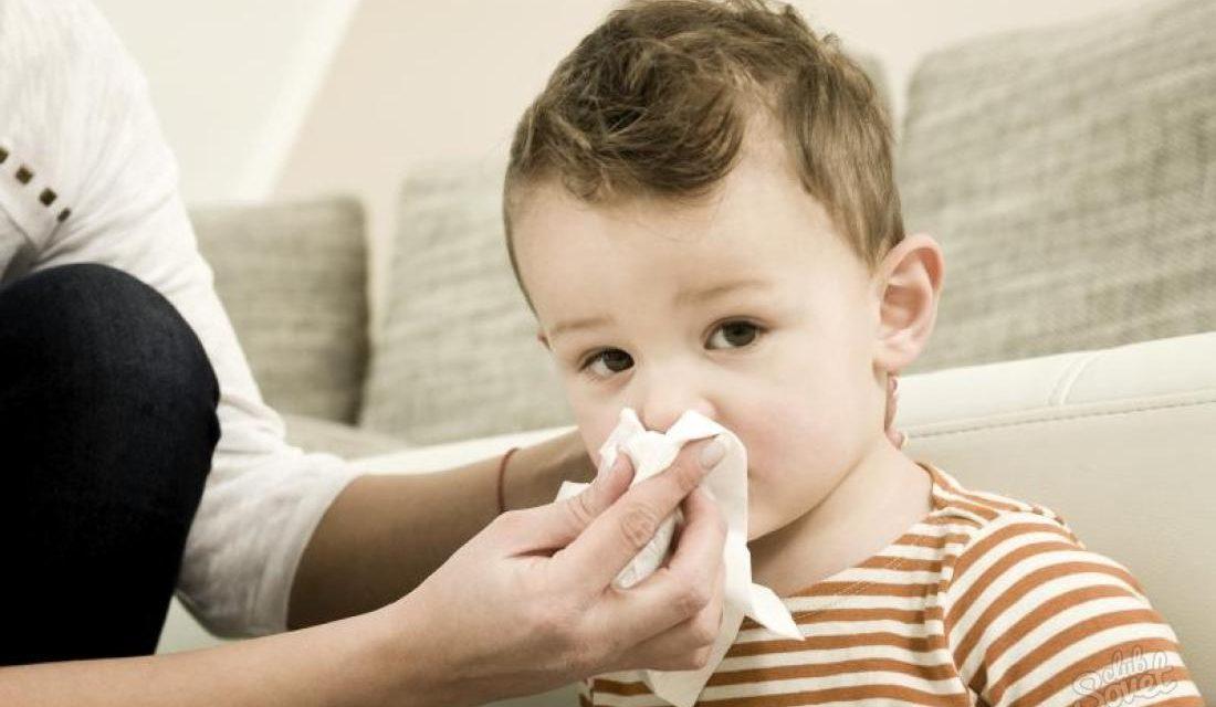 Самые действенные средства от насморка у детей